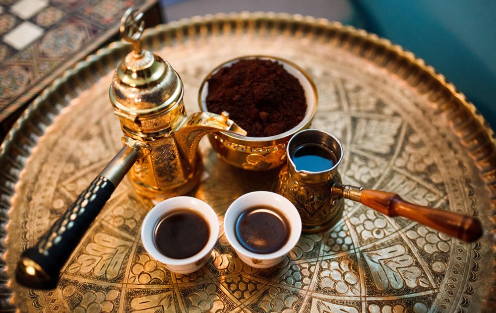 Церемония «Варка ливанского кофе»