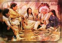 Церемония Священной Индейской Трубки Мира