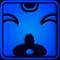 Печать синяя обезьяна Чуен