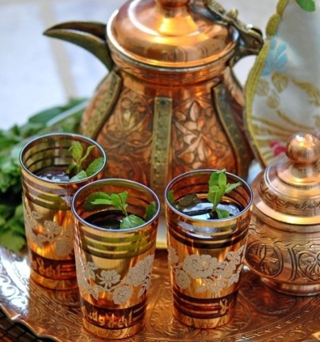 Церемония «Марокканский чай»