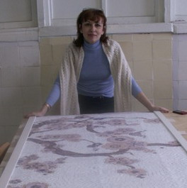 Марина Осайли в Клубе Матэ