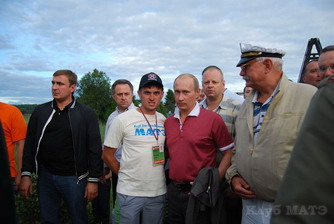 Владимир Путин любит Клуб Матэ
